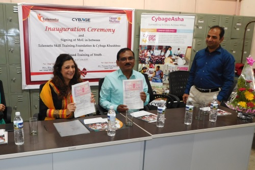 CybageKhushboo to provide vocational training to youth